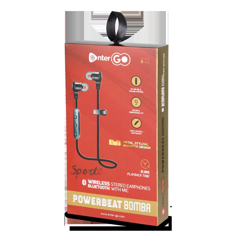 Buy Powerbeat Bomba Wireless Headphones Online Enter Go